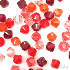 50 Swarovski 5328 Crystal XILION Bicone Beads Assorted Mixed *Pick Size & Color