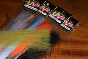1 PACK SPIRIT RIVER UV2 SUPER HAIR FLY JIG TYING MATERIAL YOU PICK COLOR