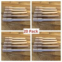 20 x 17cm TWIST ON CAGE PERCH / WOOD PERCHES Finches,Canary,Budgie Aviary Bird