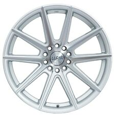 18X8.5 +45 F1R F27 5X112 SILVER WHEELS Fits Vw Jetta Golf Gti Mkv Audi A3 A6