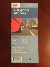 AAA Map City Series 2003 Palm Springs CA Indio Area Desert Hot Sp Rancho Mirage