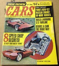 Vintage Cars The Automotive Magazine October 1963 Great For Customs Restoration