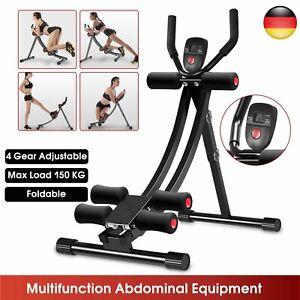 Bauchtrainer Rückentrainer Multifunktion Bauchmuskelgerät Sit-Up Trainer Fitness