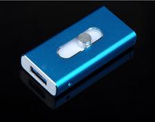 128GB  New OTG Dual USB Memory i Flash Drive U Disk For IOS iPhone iPad/PC