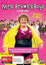 MRS. BROWNS BOYS (COMPLETE SEASON 3 - DVD SET SEALED +