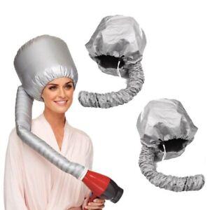 Portable Soft Hair Drying Salon Cap Bonnet Hood Hat Blow Dryer Attachment Women.