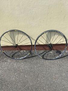 mavic ksyrium elite wheelset Road Bike Clincher 10 Speed Cassette