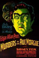 Murders in the Rue Morgue Movie POSTER 27 x 40 Bela Lugosi, Sidney Fox, A
