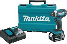 XDT111Makita XDT111 18V LXT® Lithium‑Ion Cordless Impact Driver Kit (3.0Ah)