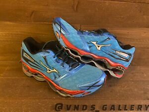 Mizuno Wave Prophecy 2 Running Blue Red Sz 13 Mens New