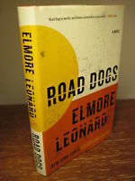 1st Edition ROAD DOGS Elmore Leonard NOVEL First Printing FICTION