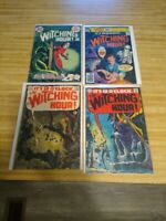WITCHING HOUR 1969-78  4 BOOKS TOTAL