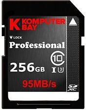 Komputerbay Sdxc card 256Gb Uhs-I U3-compatible (maximum read speed of 95Mb / s,
