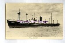 pf0266 - P&O Cargo Ship - Ballarat , built 1954 renamed Pando Cape - postcard