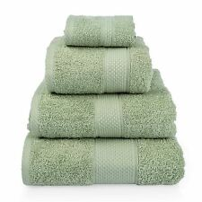 Homescapes Turkish Cotton Hand Towel Sage Green Very Soft and Absorbent 500 GSM