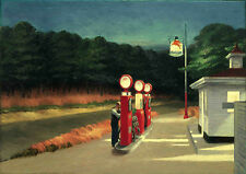Edward Hopper: Gas. Art Print/Poster (2645)