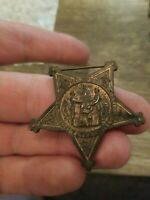 Grand Army of the Republic 1861 Veteran 1866 Pin Civil War Badge Medal Metal GAR