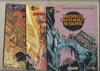 Valerian 3 volume lot Heroes Of The Equinex/World Without Stars/Ambassador Of Sh