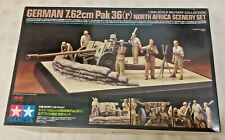 Tamiya 1:35 7.62cm Pak 36 North Africa Scenery Set Diorama Model Kit 32408