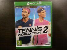 XBox One /  Xbox Series X  Tennis World Tour 2 Neuf sous Blister Vers. Fr