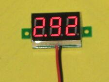 Spannungsanzeige Voltmeter 3 - 30 Volt MB 1180