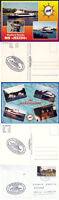 GERMAN RIVER CRUISE SHIP MS HEIDI A SHIPS CACHED COVER & 2 COLOUR POSTCARDS