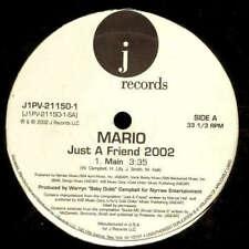"""Mario - Just A Friend 2002 (12"""") Vinyl Schallplatte - 162388"""