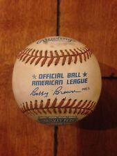 1991 Rawlings Official COMISKEY PARK Baseball Game Used LOA Inaugural Season