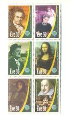 Irlande-Les Arts (1315-20) neuf sans charnière bloc-Shakespeare-musique-littérature - Mona Lisa-Art