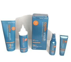 Matrix Opti Smooth Permanent Smoothing System Normal Hair Older Formula