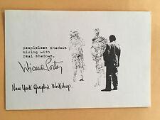 LILIANA PORTER NYGW card 1969 Lucy Lippard 557,087 exhibit seattle vancouver B