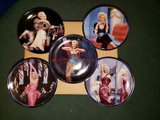 Marilyn monroe plates collectables-Set of 5