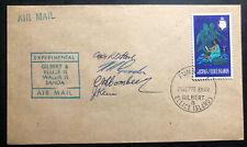 1978 Funafuti Gilbert & Ellice Islands Experimenta Airmail Cover To Western Samo