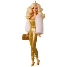 Hallmark Limited Editiion Ornament 2017 Golden Dream Barbie - #QXE3135