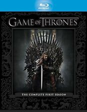 GAME OF THRONES Complete HBO TV Series 1 Bluray Box Set Collection + Extras New