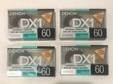 New listing Lot Of 4 Denon Dx 1 60 Minute Type I Normal Bias Tape.