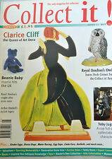COLLECT IT! Mag Magazine Issue 11, May 1998 - Toby jugs, Dunhill, Clarice Cliff
