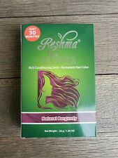 2x Reshma Henna Rich Conditioning Semi Permanent Hair Color Natural Burgundy