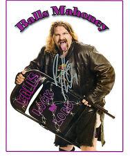 BALLS MAHONEY ECW WWE SIGNED AUTOGRAPH 8X10 PHOTO W/ PROOF