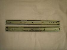 """Accuride 20"""" Full Extension Zinc Drawer Slides 1 Set 3832-C20P 100 lb"""