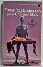 JOHN CARTER OF MARS - EDGAR RICE BURROUGHS - BRITISH NEL EDITION