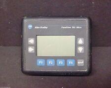 2711-M3A18L1 Ser A FRN 4.46 PanelView 300 Micro Allen Bradley HMI Keypad PLC QTY