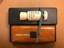 Vintage Realistic Record Cleaner Brush Kit w/ Anti-Static Record Cleaning Fluid