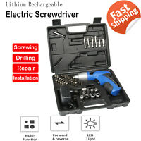 19 in 1 Compact Cordless Screwdriver Set ~ Item #56757