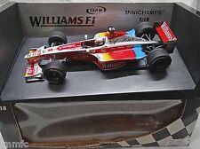 BUILT 1/18 WILLIAMS SUPERTEC FW21 FORMULA 1 1999 ALEX ZANARDI MINICHAMPS rare