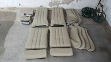 BMW E30 325i 318i M3 SPORT SEATS KIT OEM PEARL BEIGE 100% LEATHER BEAUTIFUL KIT