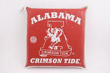 Vintage University Alabama Crimson Tide Football Seat Cushion (C3R) Red Elephant