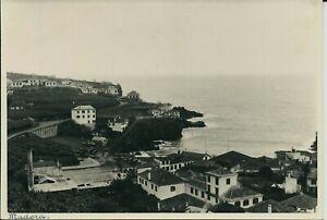 Original photograph, Madeira fishing village (Portugal) 1938