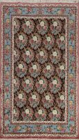 6x9 Floral All-Over Aubusson Chinese Area Rug Wool Hand-knotted Oriental Carpet