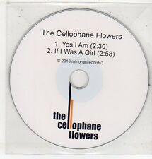 (ET671) The Cellophane Flowers, Yes I Am - 2010 DJ CD